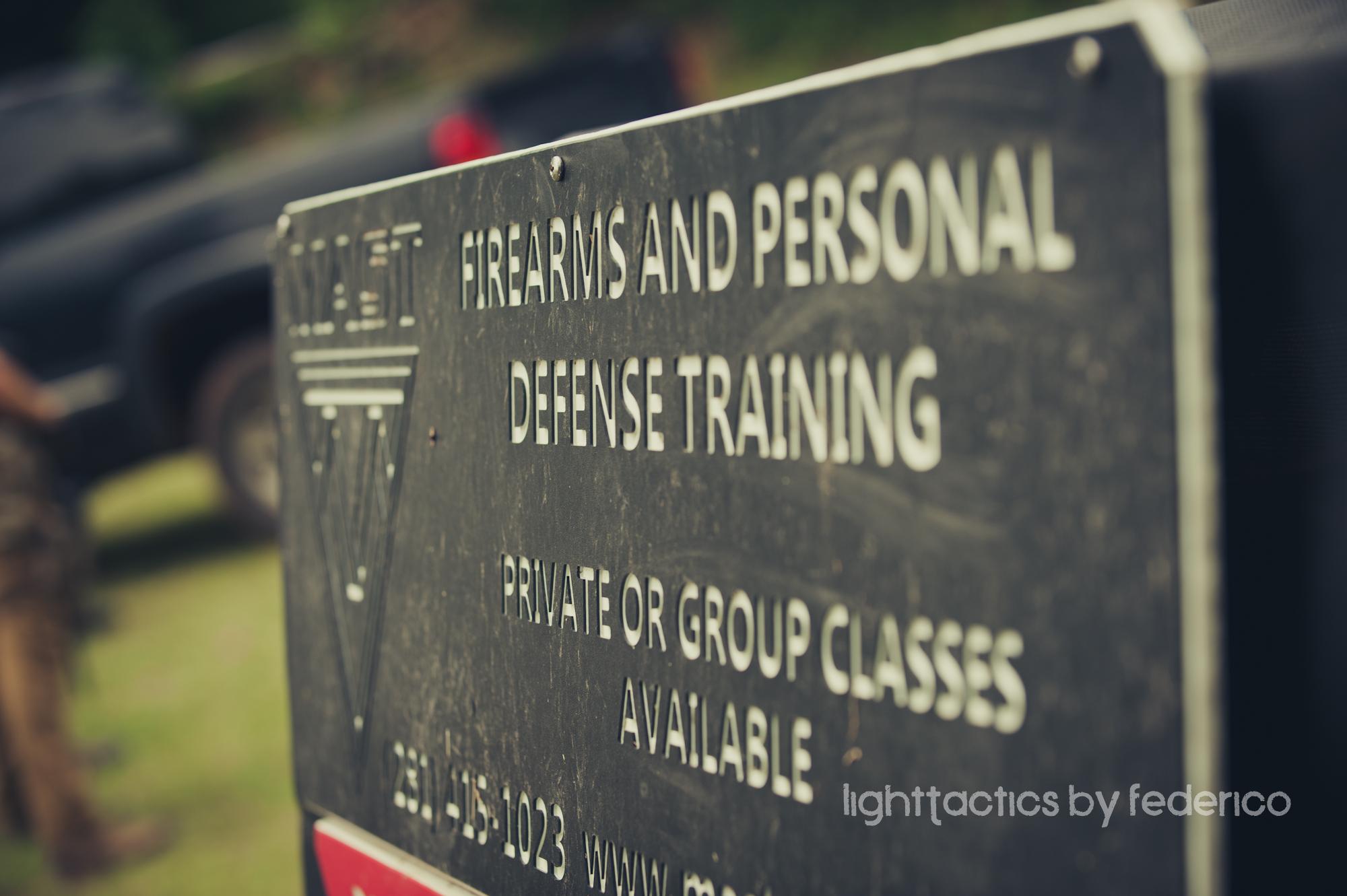 Corporate handgun course – private event